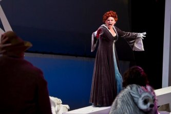 As the Witch in Into the Woods at UC Irvine