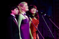 Singing at a TheatreWorks gala with Sophie Oda and Julian Hornik