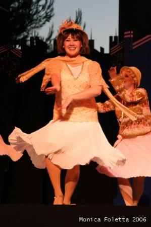 """Courtney as Millie in """"Thoroughly Modern Millie"""""""