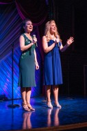 Melissa Robinette and Courtney in Dancing in the Street at Florida Studio Theatre