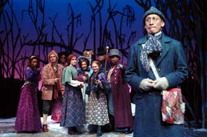 As Little Red in Into the Woods at TheatreWorks with Francis Jue, Christiane Noll, James Monroe Igleheart, and more!