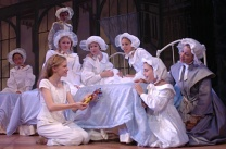 As Ermengarge in the world primiere of Andrew Lippa's A Little Princess starring Mackenzie Muazy as Sara Crew