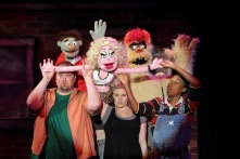 As Lucy T. Slut in Avenue Q at Mason Street Warehouse