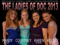 Ready to tour Japan with the girls of DOC 2013